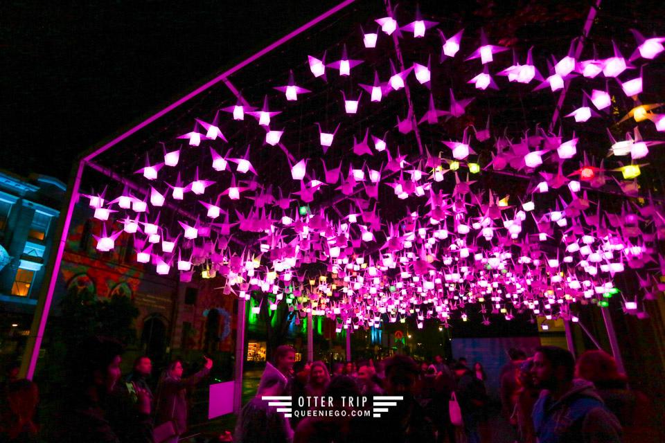 澳洲雪梨景點 Vivid Sydney雪梨燈光藝術節看雪梨歌劇院燈光秀