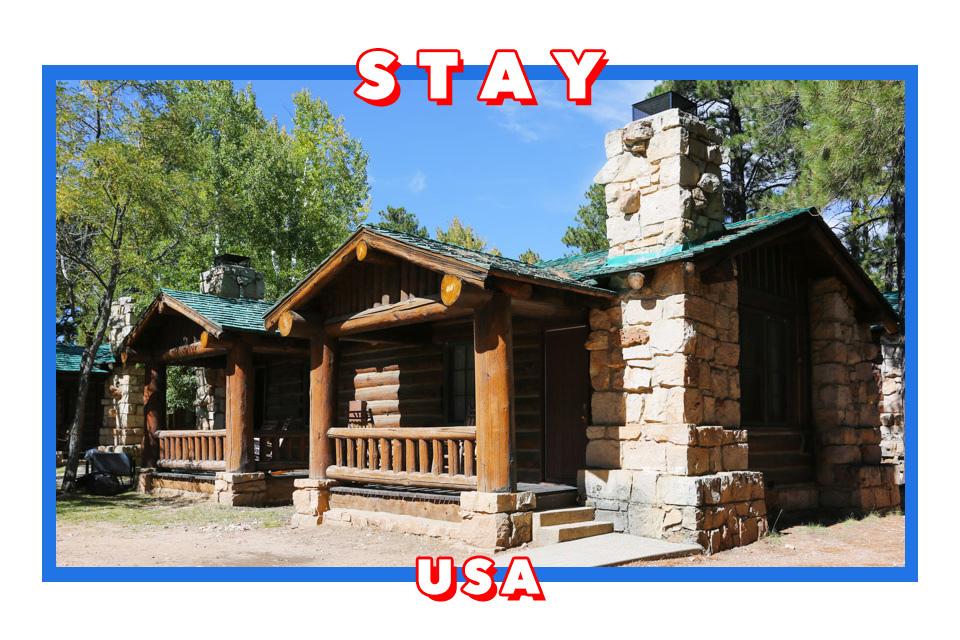 美國大峽谷北緣住宿 Grand Canyon Lodge-North Rim和Bright Angel Point Trail