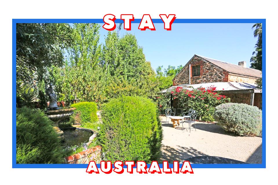 澳洲巴羅莎谷Barossa Valley/Tanunda住宿 Jacobs Creek Retreat/1918 Bistro & Grill