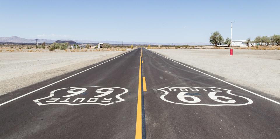 美國公路旅行 66號公路的天使 巧遇摩登原始人主題樂園 Go!Route 66 road trip