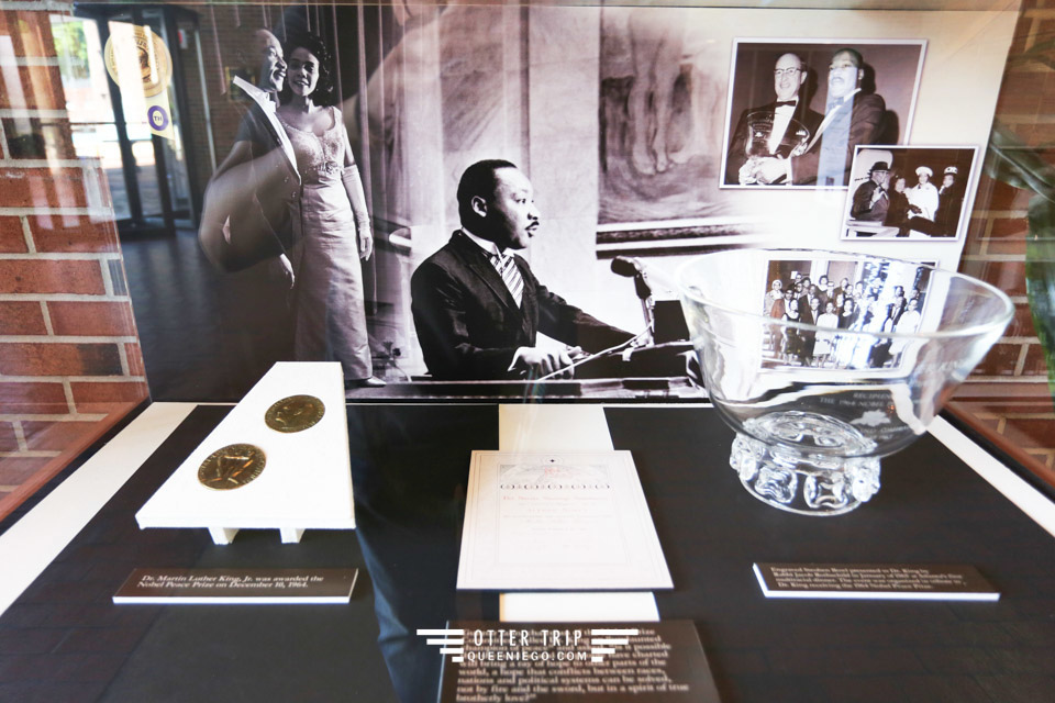 美國亞特蘭大 馬丁路德金國家歷史遺址 薄薄綠皮書沈重的著名罪證