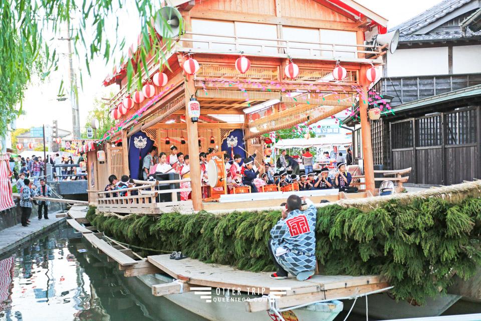 九州柳川景點 初夏的柳川運河~沖端水天宮祭及沖端商店街的屋台巡禮