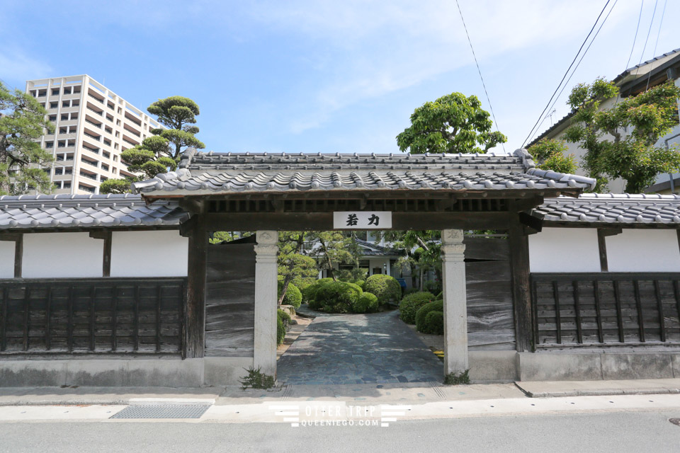 日本九州柳川住宿 家庭日式旅館 若力旅館Wakariki Ryokan 鰻魚飯元祖本吉屋邊上