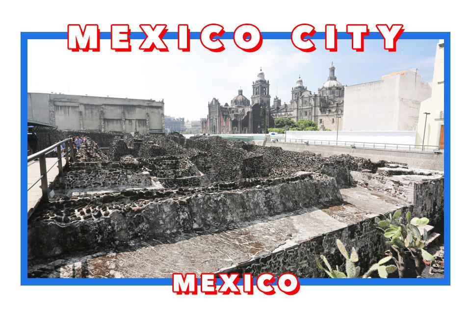 墨西哥城景點 墨西哥城教堂%2F墨西哥大神廟Templo Mayor~阿茲特克的宇宙中心