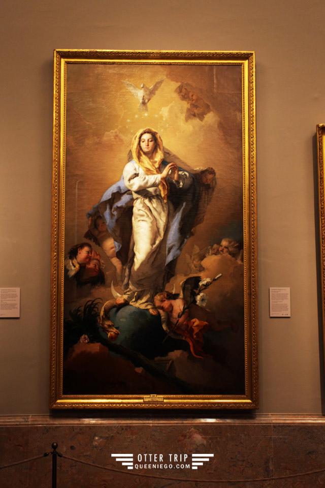 西班牙馬德里景點 普拉多博物館Museo del Prado朝聖維拉斯奎茲《宮女Las Meninas》