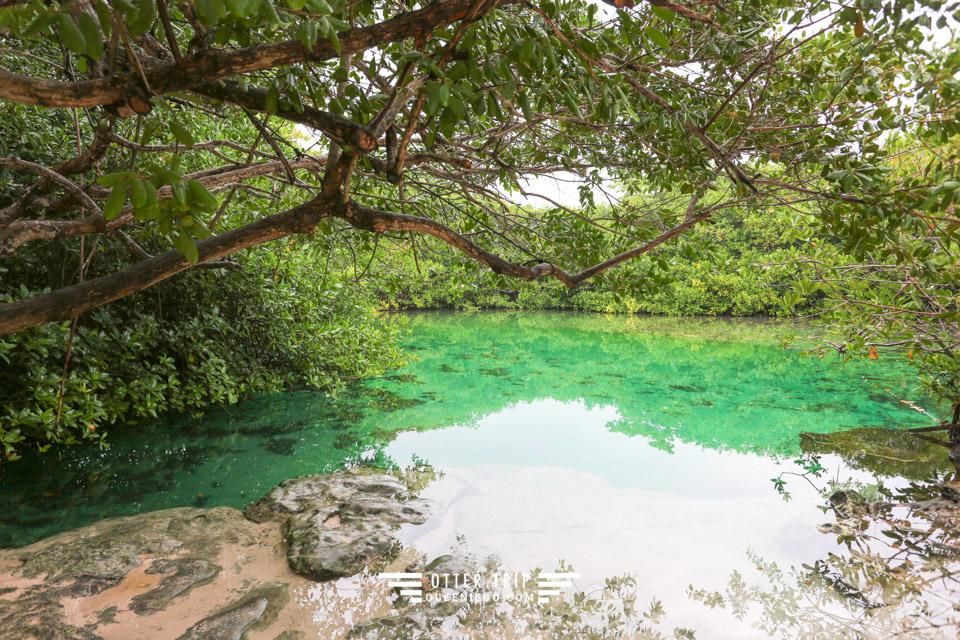 墨西哥Tulum住宿推薦   Blue Sky Tulum 房間走出來就能玩水