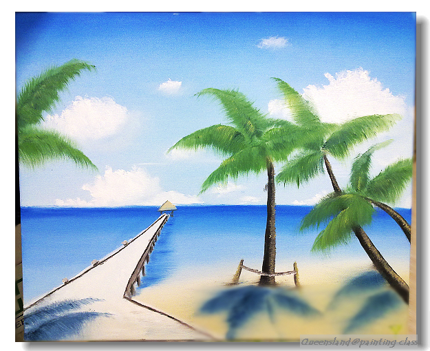 第三畫 海灘
