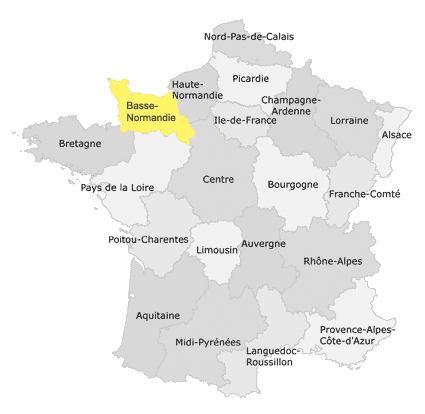 CarteDeFrance-Normandie