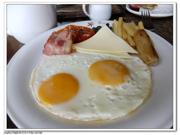 飯店的美式早餐