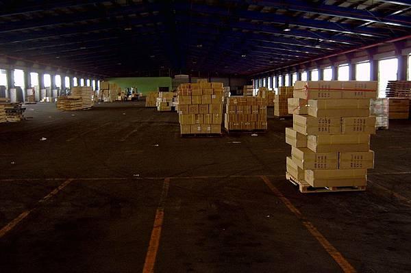 這裡是貨物集散地
