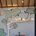 森林音樂盒屋內牆繪