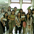女孩們出發前合照