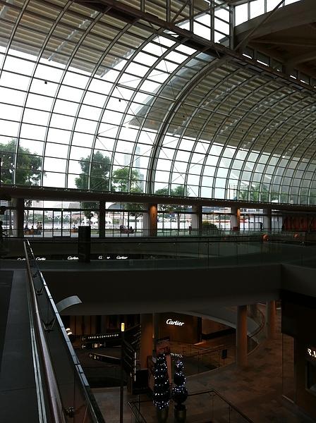 新加坡濱海灣金沙酒店 Shopping Mall