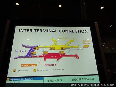 樟宜機場平面圖