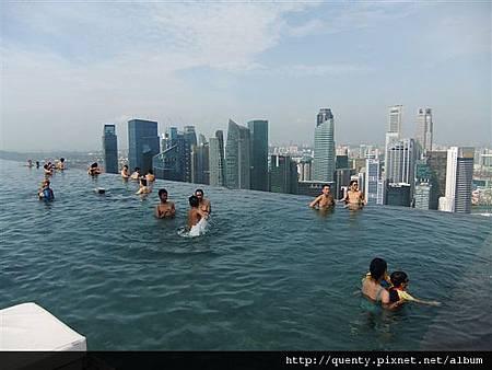 空中花園 游泳池