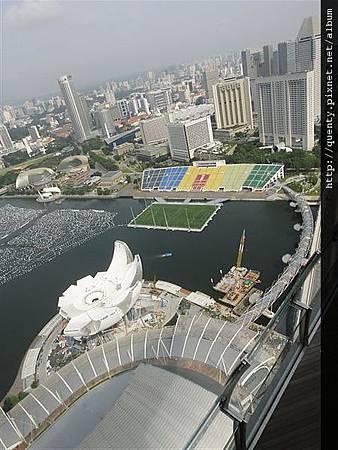 金沙酒店空中花園 view