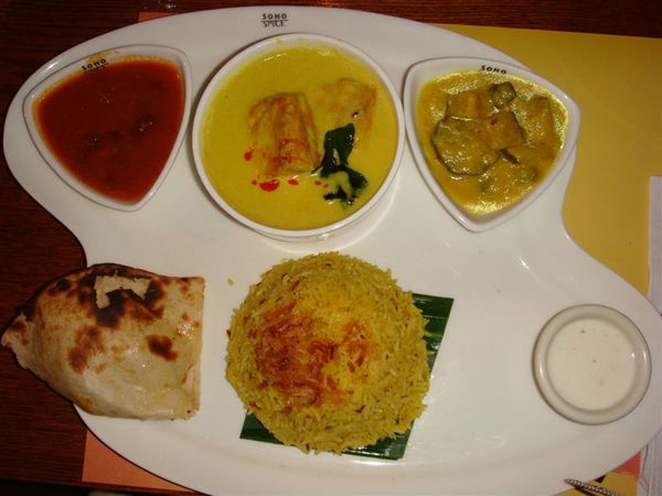 SOHO--Indian dishes