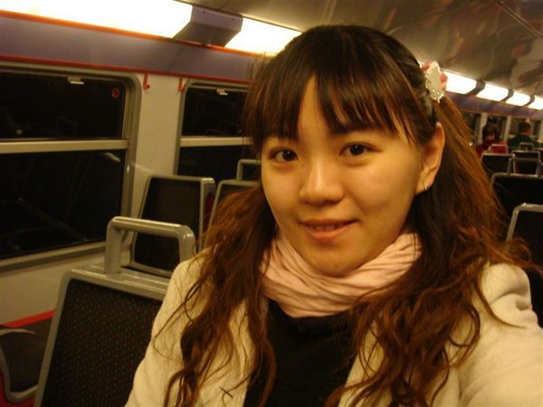 On the train to Chateau de Versailles