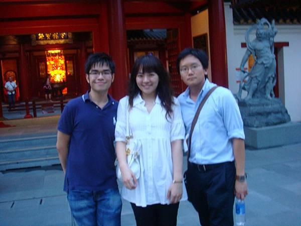 從M'sia跑來的Ken&被我們抓來當導遊的Tsu San