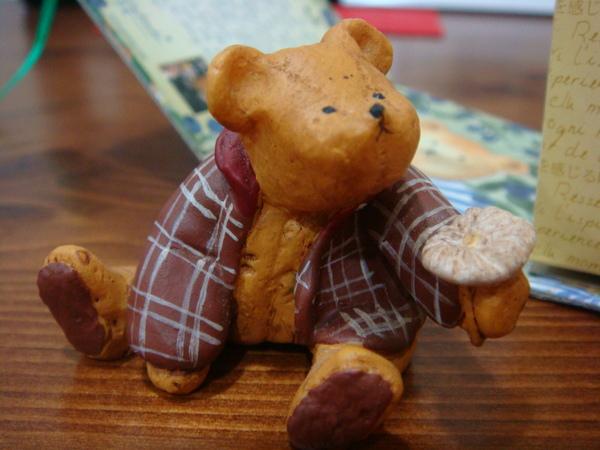 是隻超可愛的荷蘭熊!