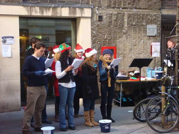 Christmas Carol on Houghton Street