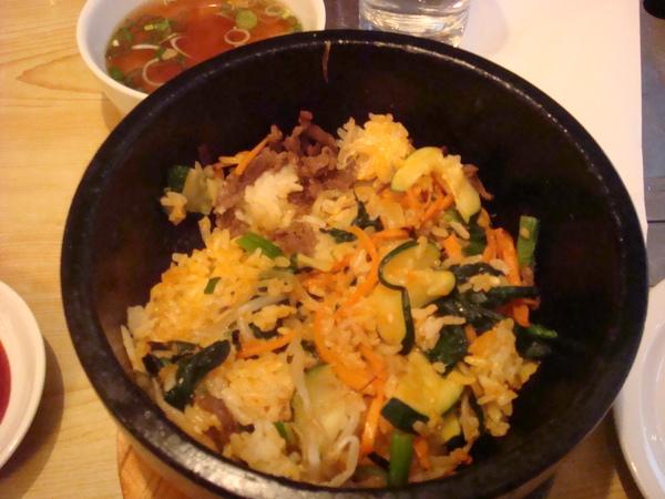 倫敦的韓國菜