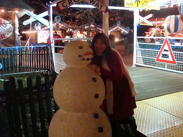 A Fake Snowman ★