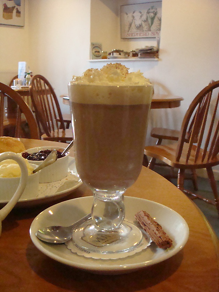 Hot Chocolate@ Farmer's Shop