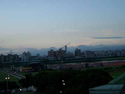 遠眺台北市