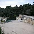 Nimes-歐洲第一座公共花園.JPG