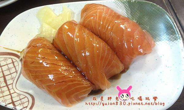 鮭魚手握司