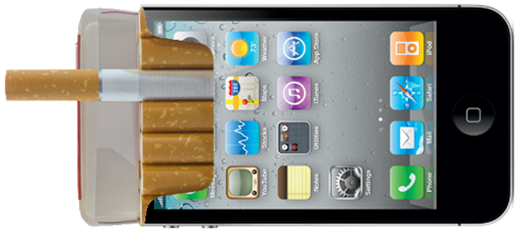 iPhone-Cigarette