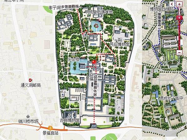 景福宮MAP