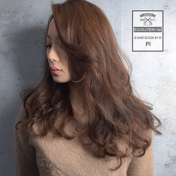 燙髮,水波紋,日系燙髮,perm,捲度,蓬鬆大捲,蓬鬆捲髮