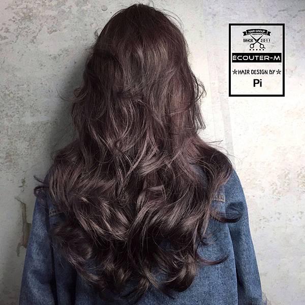 灰髮色,灰霧可可髮色,灰霧髮色,灰霧可可色,巧克力色