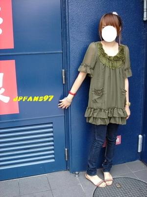 小鴨in jp Summer~NO.81~超美的墨綠花朵雪紡洋裝_調整大小.jpg