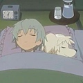 睦實跟夏美[變狗後]在睡覺...