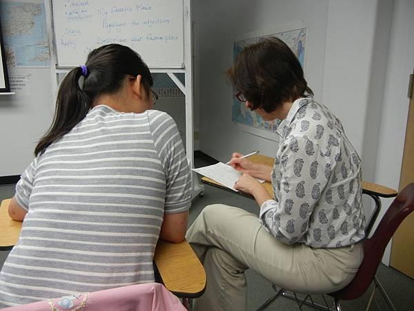 作文課上課情形