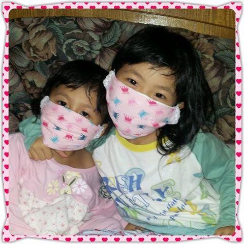 DIY~儿童口罩