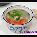 红萝卜鸡肉粥