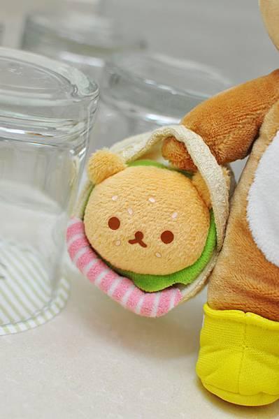 San-X 野餐拉拉熊漢堡1