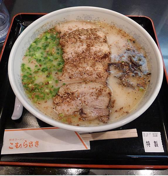 橫濱拉麵博物館-熊本拉麵1