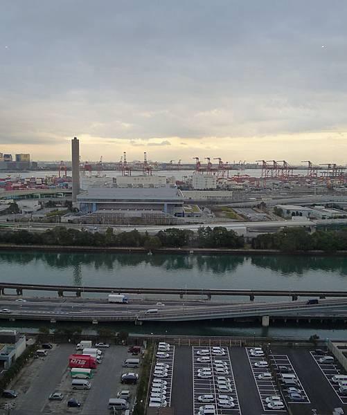 品川海濱太陽道飯店-窗景2