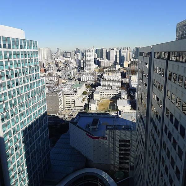 品川海濱太陽道飯店-窗景