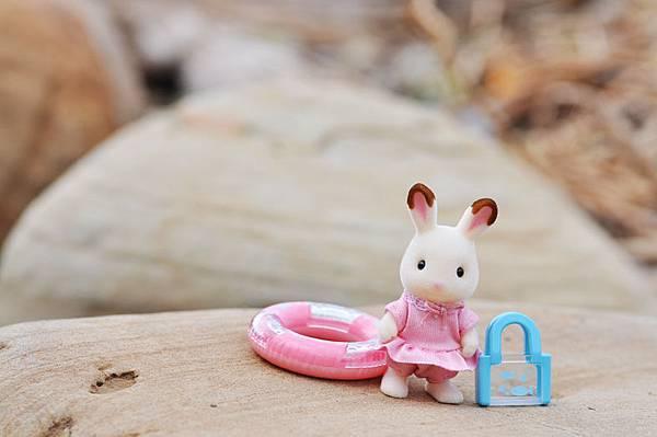 夏季海邊-小兔1