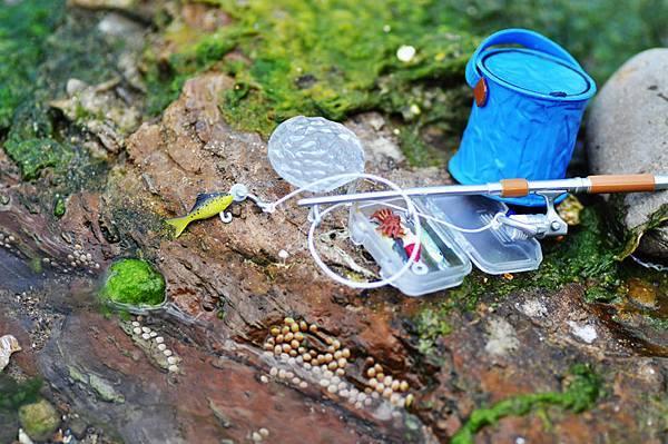 夏季海邊-釣魚