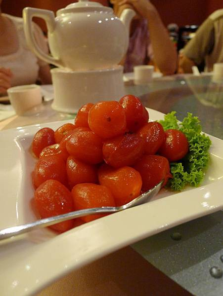 蘭城晶英酒店-紅樓餐廳料理1