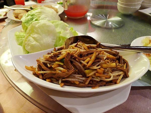 蘭城晶英酒店-紅樓餐廳料理3
