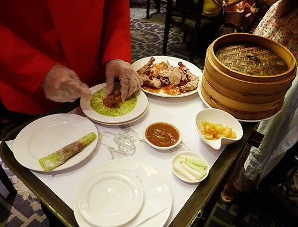 蘭城晶英酒店紅樓-櫻桃鴨料理8
