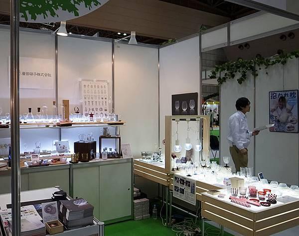 2013東京禮品展-廣田硝子